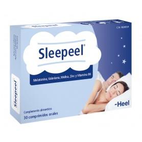 HEEL SLEEPEEL MELATONINA Y VALERIANA 30 COMPRIMIDOS