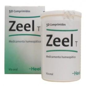 HEEL ZEEL T ARTICULACIONES CARTILAGO SUIS COMPOSITUM 50 COMPRIMIDOS
